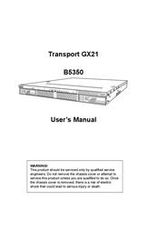 Siig Transport GX21 B5350 User Manual
