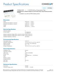 CommScope 760062380 Leaflet