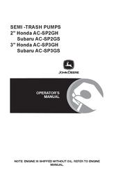 John Deere AC-SP2GH User Manual