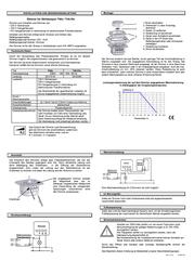 Pera Insert Dimmer Pera 4600e6000 4600e6000 Data Sheet