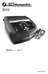 Schumacher Automatic charger SCI12 Data Sheet