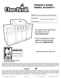 Char-Broil 463269411 User Manual