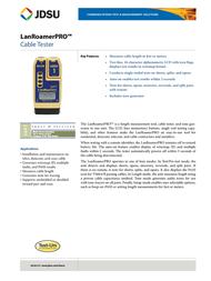 JDSU TP600 Leaflet