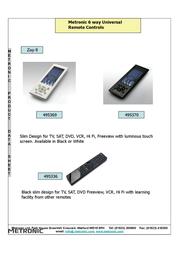 Metronic Zap 6 495369 Leaflet