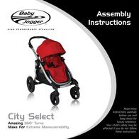 Baby Jogger CITY SELECT User Manual