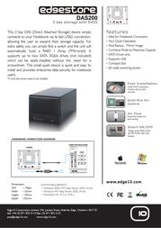 Edge10 2TB DAS200 31739 Leaflet