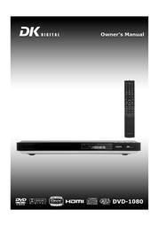 DK digital dvd-1080 User Guide