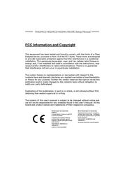 Biostar H61MU3 Owner's Manual