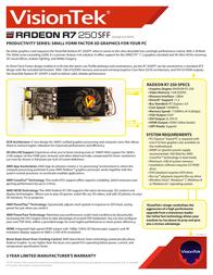 VisionTek 900702 Leaflet