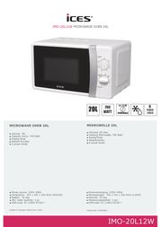 Ices Electronics IMO-20L12W 전단