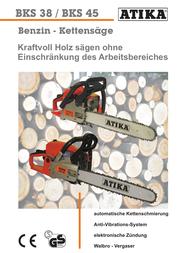 ATIKA BKS 38 Brochure