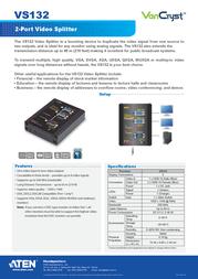 Aten VS132 Leaflet