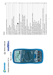 Metrix MX 26 Digital Multimeter and Case 5000 counts MX 0026-T Data Sheet
