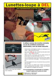 Rona Magnifying glasses with LED 450515 1. 5x/ 2.5 x/ 3.5 x 450515 Data Sheet