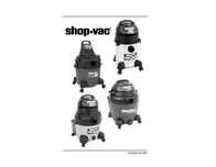 Shop-Vac HANG UP VAC Wet and Dry Vacuum Cleaner 1300W 20l 9520629 Data Sheet