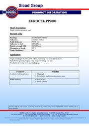 EUROCEL PP2000 001057146 Leaflet
