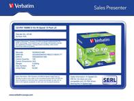 Verbatim VB-CRW16JC 43148 Leaflet