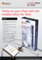 e-pens EPN007-EN Leaflet