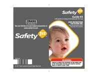 Safety 1st Child Restraint 4358-5721 User Manual