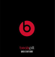 Beats by Dr. Dre Pill XL MH842ZM/A Data Sheet