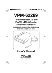 ViPowER VPM-62289 User Manual