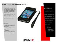 Groov-e GV-TOUCH4L GVTOUCH4L Leaflet