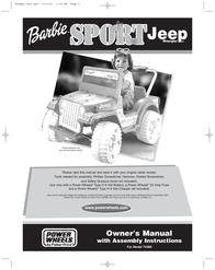 Jeep 74383 User Manual