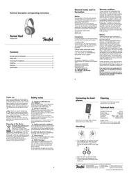 Teufel Aureol Real 103449001 Leaflet