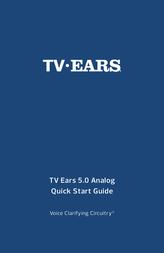 TV Ears TV·Ears Wireless Headphones, Black 11641 Data Sheet