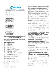 NewOne CR135 User Manual