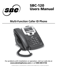 Intellitouch sbc-120 User Guide
