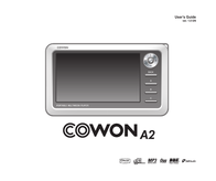 Cowon a2 User Guide