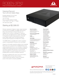 Magma ROBEN-3PX2 Leaflet