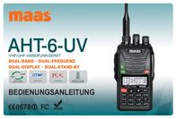 Maas Elektronik MAAS DUOBAND AMATEURFUNKGERÄT AHT-6-UV 1239 User Manual