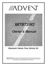 Advent MITBTSW2 User Manual