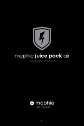 Mophie 2105 Owner's Manual