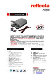 Reflecta CrystalScan 7200 65380 Leaflet