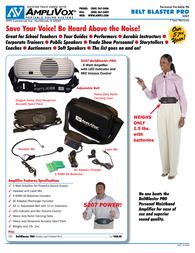AmpliVox S207 Leaflet