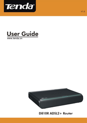 Tenda D810R User Manual