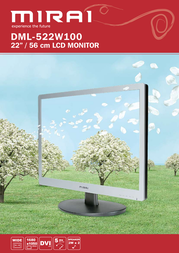 "Mirai 22"" LCD Monitor DML-522W100 Leaflet"