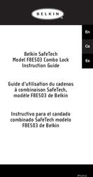 Belkin C100 Security Lock f Notebook F8E503EA User Manual