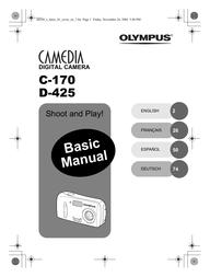 Olympus Camedia C-170 User Manual