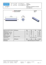 Standexmeder Electronics (Ø x L) 4 mm x 19 mm 4003004003 Data Sheet