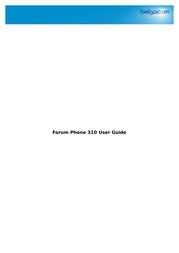 Belgacom 310 User Manual