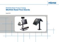 MICROS Flexi-Stand 15100.207-0053 User Manual