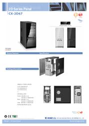 K-mex CX-2D67 CX-2D67-01 Leaflet