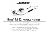 Bose MIE2i 047837 User Manual