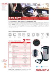Salicru SPS.AUTO 658BB-01 Data Sheet