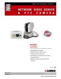 Lorex IPSC2260 Leaflet