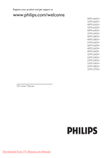 Philips 42PFL5405H User Manual